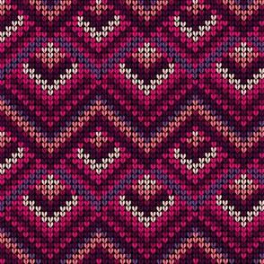 maroon yarn