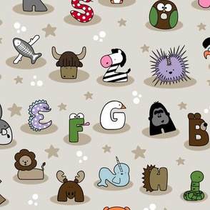 Animal Alphabet Show- Small