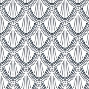 ombre mermaid scales // pantone 174-15