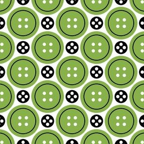 06019673 : R4X button + popper : green