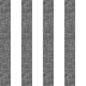 "grey linen stripe 1"" (90) || the lumberjack collection"