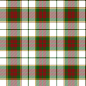 British Columbia unofficial tartan, 6""