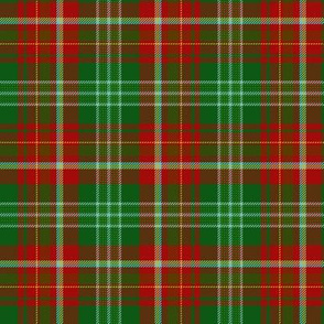 "New Brunswick official tartan, 6"" bright"