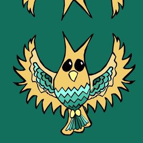Golden Owl Plush