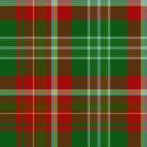 "New Brunswick official tartan, 12"" bright"