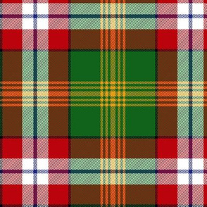 Northwest Territories official tartan, 6""