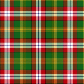 Northwest Territories official tartan, 3""