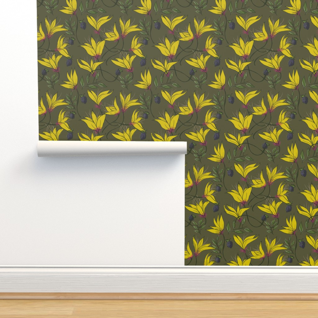 Isobar Durable Wallpaper featuring Calling home by denysemitterhofer