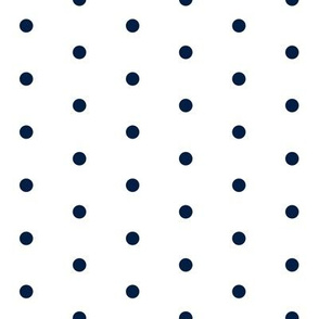 mini dots // navy blue mini dots dot fabric nursery baby design nursery design
