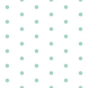 mini dots // mint dot fabric nursery baby mini dots basic simple design