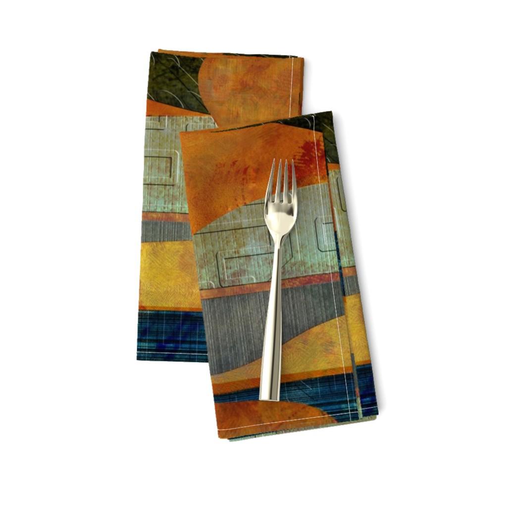 Amarela Dinner Napkins featuring Four-level landscape by wren_leyland