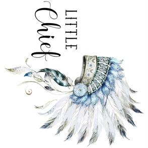 Little Chief - 90 degrees / Boys/Headdress / Aztec