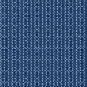 faux sashiko diamond stripe