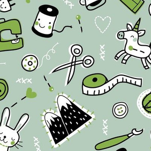 Sewing in Green