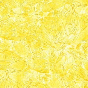 cracked ice in saffron and yellow