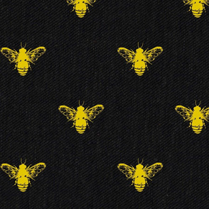 Bees Black and Gold