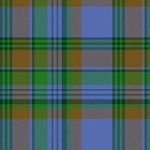 "Nova Scotia asymmetrical tartan #1, 6"" bright"