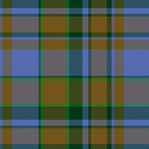 "Nova Scotia asymmetrical tartan #2, 6"" bright"