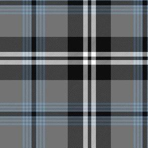 "Nunavut grey tartan, 6"""