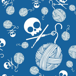Yarn-Skull-and-Yarn-Toss-Lapsis-Blue