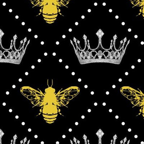 Queen Bee and Pearls