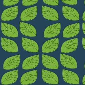 Leaves summer sew