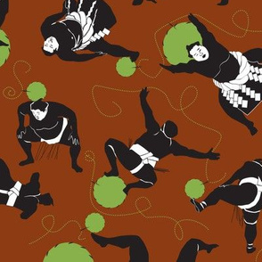 Sumo Sewing Green Spheres
