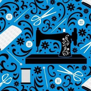 Sewing Essentials (Blue)
