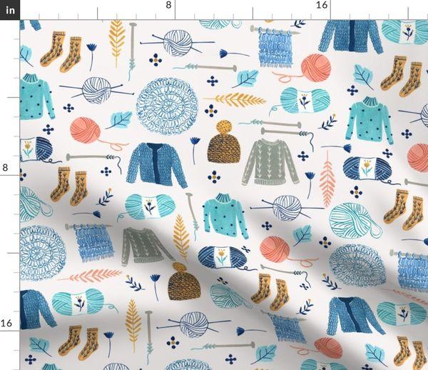 c3b2a31e7 We Love Yarn/ Yar clothes/ Handmade DIY Fabric/ Winter Holidays Fabric