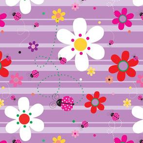 FlowersWithLadybugsPurple_90Degress_CCW