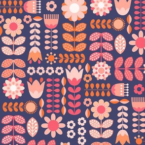 Swedish Folk Art Colorway9