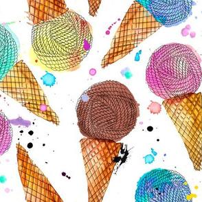 yummy yarn cones