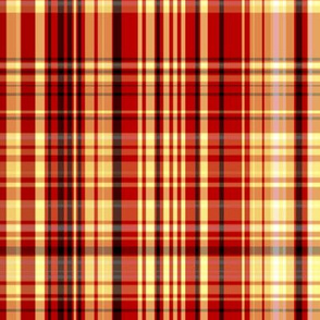 Red & Yellow Plaid