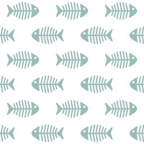 Dark Aqua Fish