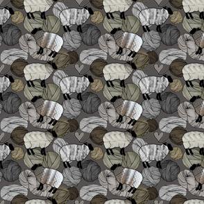 Wooly Yarn, Aran Sheep Sweaters