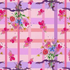 Posie Bouquet Plaid