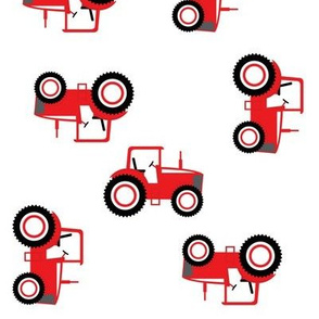 Tractor Toss on Red