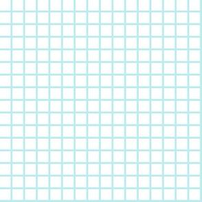 grid // light blue grid fabric graph paper design math 80s90s design