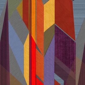 Horizons-purple red rust