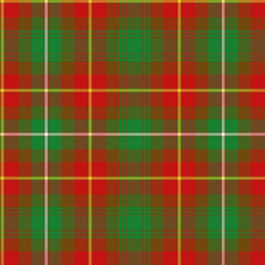"Prince Edward Island official tartan, 12"""