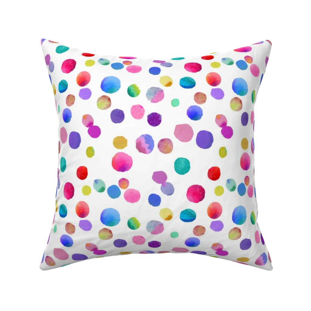 Catalan Throw Pillow featuring Little Drops of Love by theartwerks