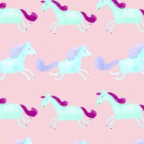 Happy Horse  | Bright Pastels
