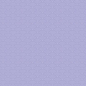 Purple seigaiha waves