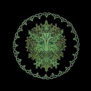 Green Man Celtic Small
