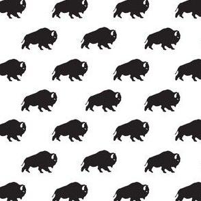 Buffalo Repeat in Black + White
