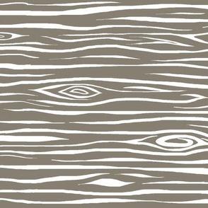 Woodgrain small - dark taupe