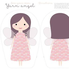 yarn angel cut and sew