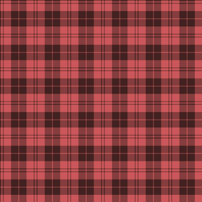 "Campbell red / Campbell of Armaddie tartan, 3"" faded"