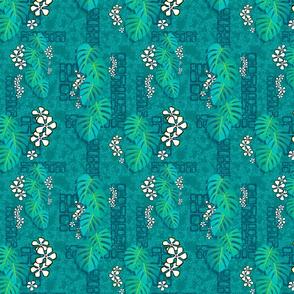 Tiki Garden Wall 001 - 8in