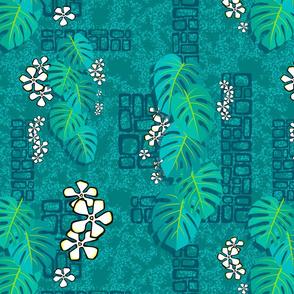 Tiki Garden Wall 001 - 16in